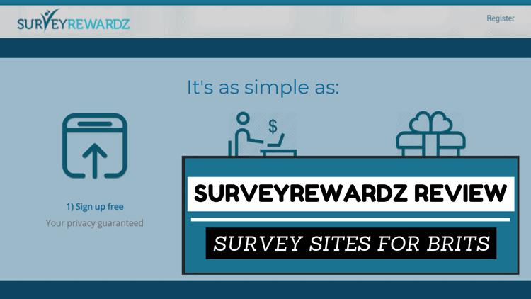 Survey Sites For Brits 2021: SurveyRewardz Review