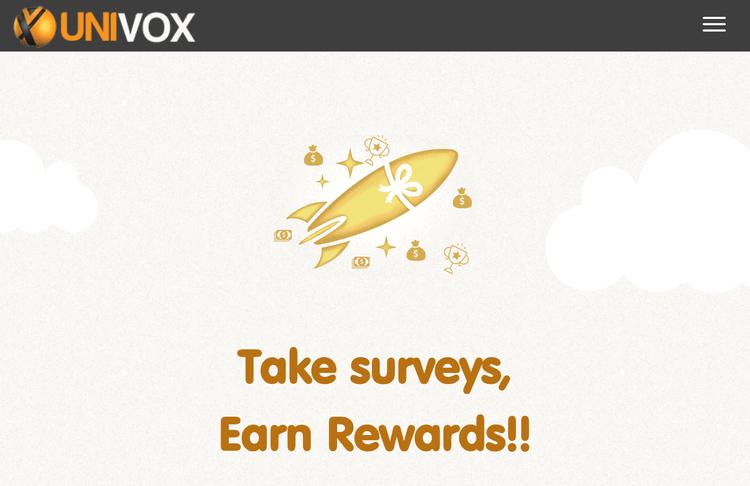 Univox is a popular mobile survey app.
